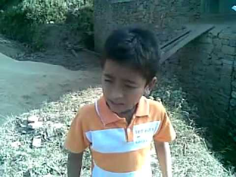 what a tallent nepali child song