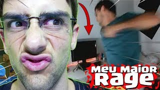 MEU MAIOR RAGE AO VIVO no CLASH ROYALE
