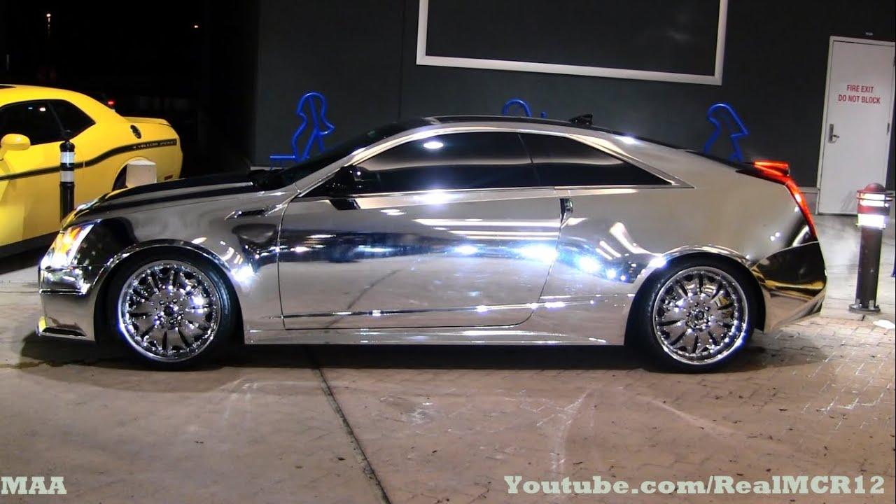 Chrome Obama Cadillac Cts V Shiny Youtube