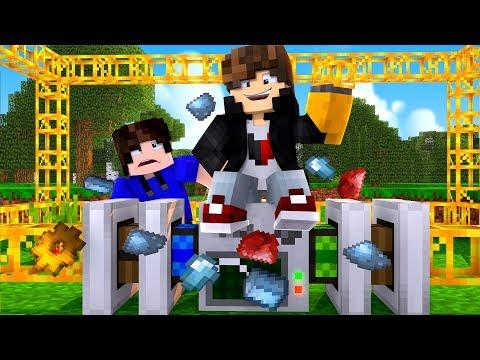 Minecraft: MUNDO L - MINERADORA AUTOMATICA - ‹ JUAUM › #09