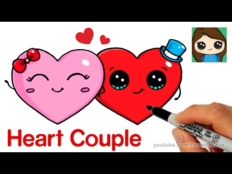 How to Draw Cute Hearts Easy
