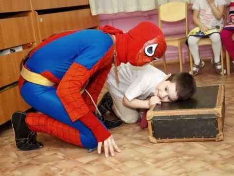 Человек паук на день рождения