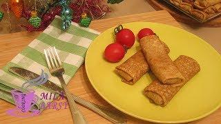 Обалденные блинчики с мясом ???? Новогодний рецепт ???? Pancakes with meat