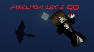 Pixelmon Let's GO - Ep 7 - Just keep Fishing