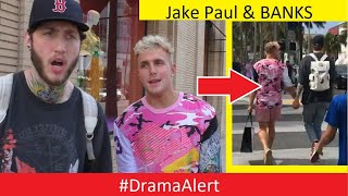 FaZe Banks & Jake Paul HOLDING HANDS! #DramaAlert Ninja DEFENDS PewDiePie!