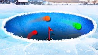 EXTREME ICE GOLF DERBY! (Golf It)