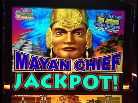 **HUGE JACKPOT** 700 SPINS MAYAN CHIEF slot machine Max bet Bonus HANDPAY