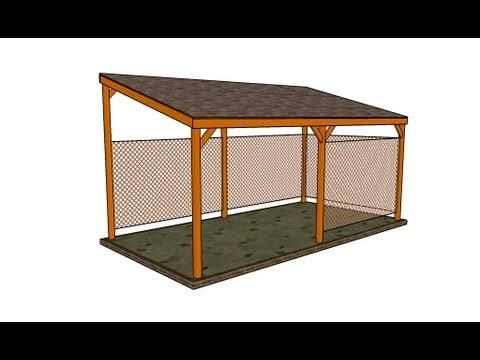Wooden carport youtube Wood carport plans free