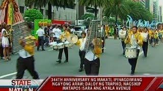 SONA: 344th anniversary ng Makati, ipinagdiwang