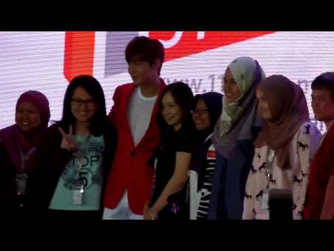[FANCAM] 150424 Lee Min Ho at 11street's Grand Launch in Malaysia (Photo Session 1)