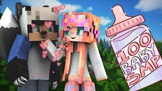 BECOMING A WEREWOLF?! | 100 Baby SMP | Episode 16 (Minecraft Modded SMP W/ My Girlfriend)