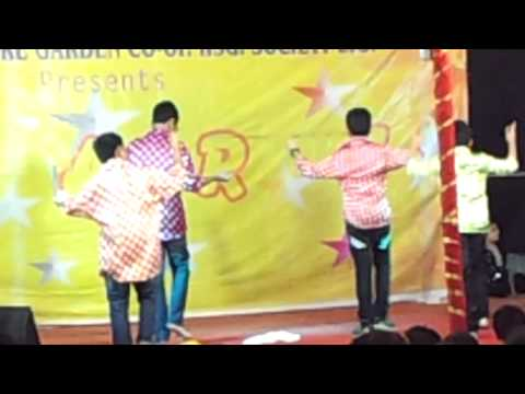 Tapori Dance Performance by Kids  Tarapore Garden Society Ganapati...