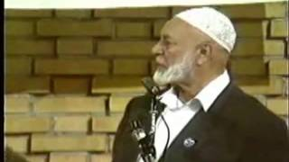 Ahmed Deedat Answer – Jesus had the chance to teach the TRINITY but he didn't!