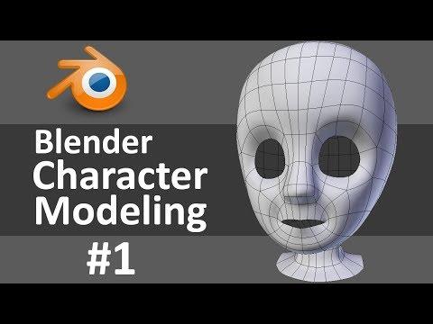 Blender Character Modeling 1 of 10