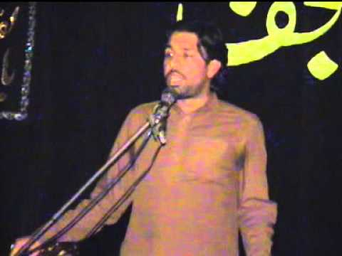 Zakir Taqi Abbas Qayamat 07 October 2012 ( Reza E Najaf ) video