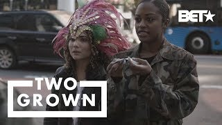 Alana & Jourdan Try Unconventional Ways To Make Money S2 E2 | Two Grown