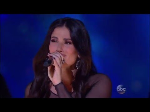 Idina Menzel Performs Let It Go at Disneyland 60th...