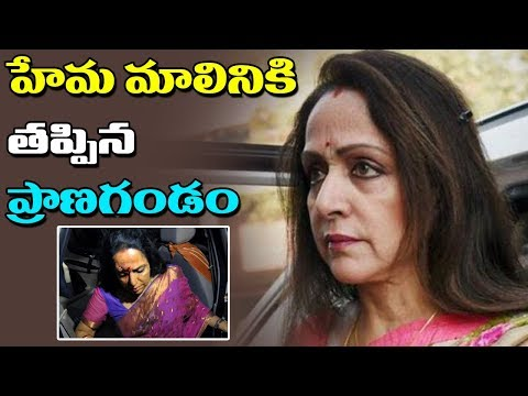 Hema Malini Escapes From Massive Storm | Tree Fell On Her Convoy | ABN Telugu