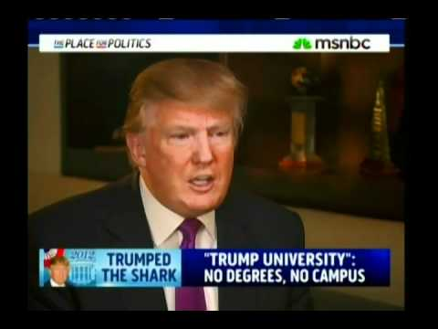 Donald Trump Failure Called Out In MSNBC Interview