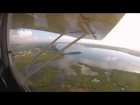 Plane Ride above Pine Island Sound, Boca Grande, and Charlotte Harbor