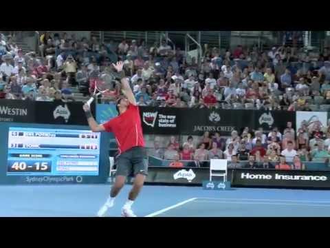 Match point: Delpo wins Apia International Sydney 2014