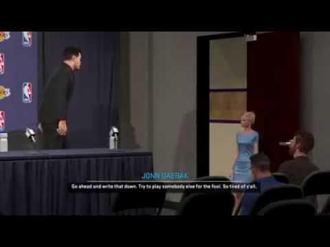 NBA 2K15 PS4 My Career -  Blonde PR Chick Wants It - Season 3