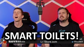Smart TOILETS will Diagnose your Illnesses! - WAN Show Nov 29, 2019
