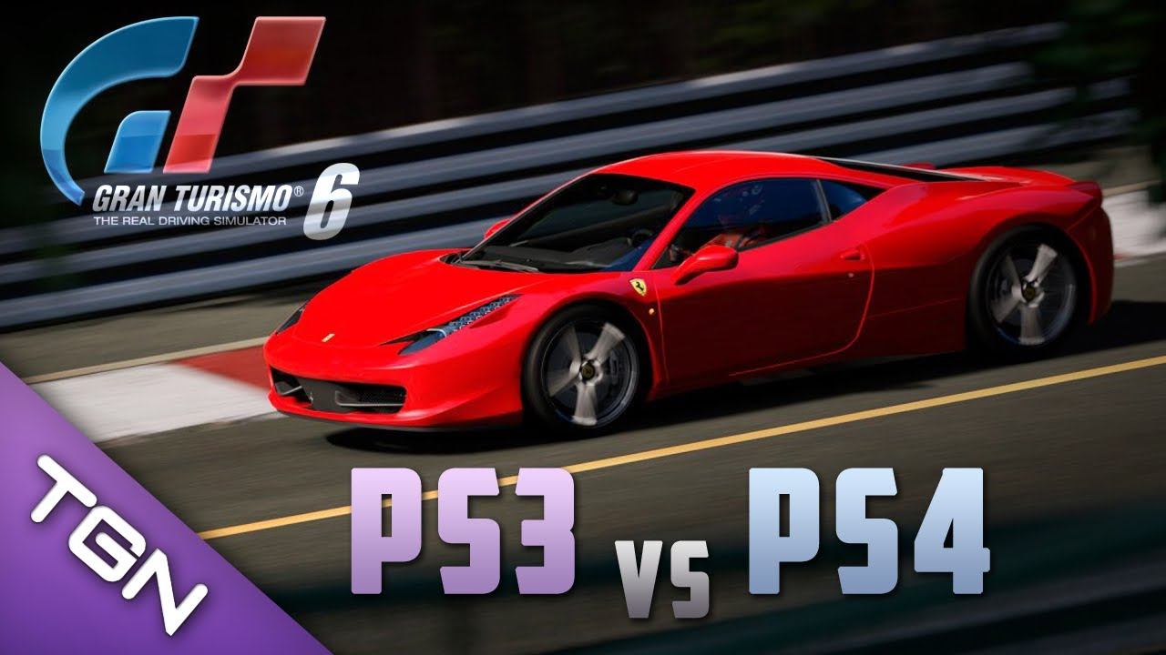 gran turismo 6 ps3 vs ps4 what will be the difference. Black Bedroom Furniture Sets. Home Design Ideas