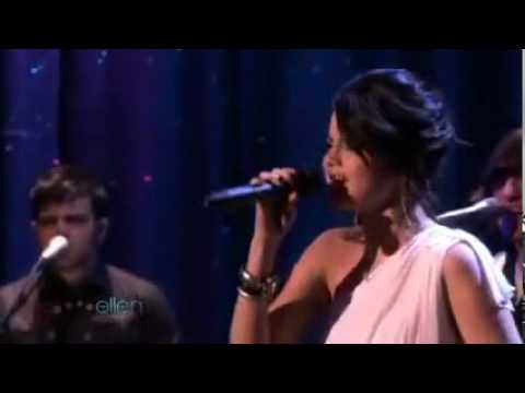 Selena Gomez  The Scene Perform Naturally Live On Ellen.mpg video