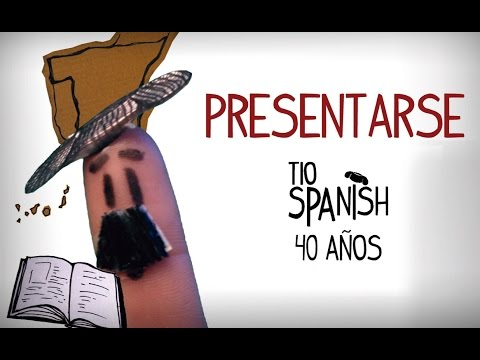 Cómo Presentarse En Español. Aprender Español Inicial