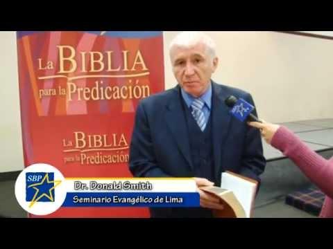 Donald Smith recomienda el uso de la Biblia para la Predicación