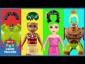 Wrong Hairs LEGO Disney Princess Moana Rapunzel Maui Hulk Finger Family Song Rhymes For Kids mp3