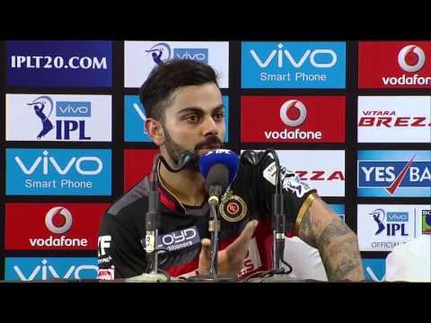 RCB vs RPS – Ful Press Conference – Virat Kohli IPL 2016