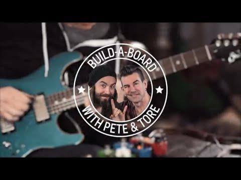 Pete & Tore - Building a Pedalboard