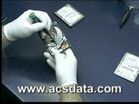 Data Recovery Head Swap - Hard Drive Crash -