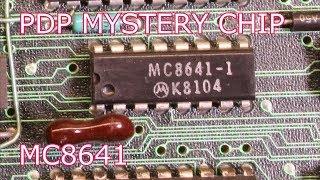 PDP 11/24 MYSTERY CHIP: MC8641