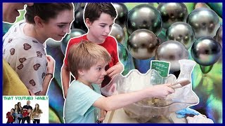Finding Real Pearls In Oysters! Visiting Pearl Harbor and Paradise Cove Luau / That YouTub3 Family