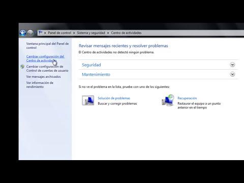 Configuración Control de Cuentas de Usuario (Quitar mensaje de Permisos de Administrador Windows 7)