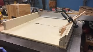 Miter sled and Spline cutting Jig