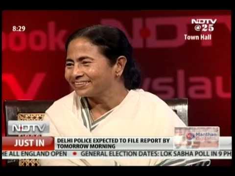 Mamata Banerjee in a freewheeling chat on Facebook Talks Live