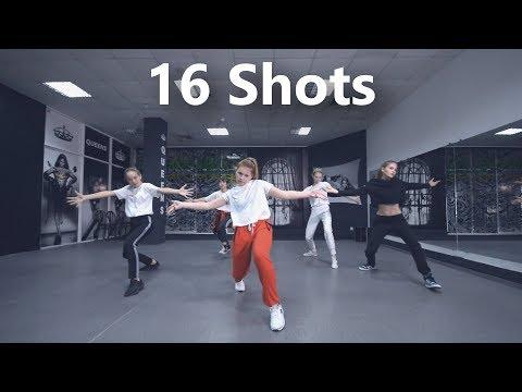 16 Shots - Stefflon Don / J.Yana Choreography (beginners class)