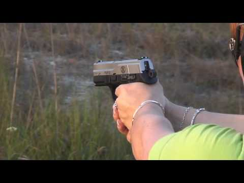 shooting FNP-9 FN 9mm disparando pistol pistola Video