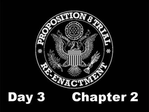 Prop 8 Trial Re-enactment, Day 3 Chapter 2