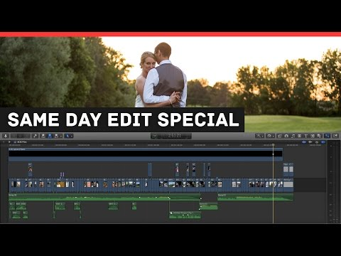 Inside the Wedding Edit (SDE SPECIAL) - Jordan & Curtis - FCPX