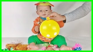 Learn Colors With Balloons for Children | Finger Family Song Toddlers Nursery Rhymes Lyrics #6