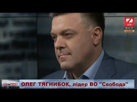 Про Україну, мову, владу, вибори і відповідальність: Олег Тягнибок на каналі ZIK
