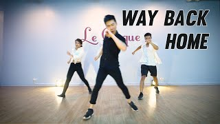 Dạy nhảy Way Back Home | Dancing with Minhx