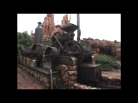 Big Thunder Mountain Railroad Roller Coaster POV Tokyo Disneyland Japan