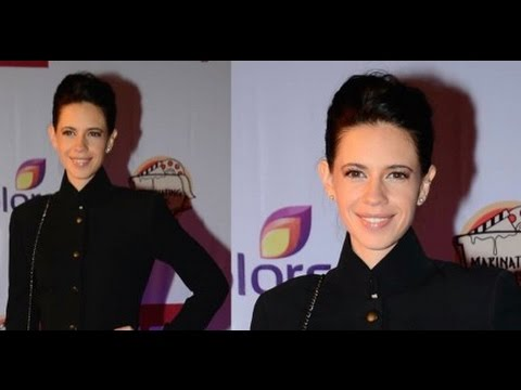 We Spotted! Kalki Koechlin At Red Carpet 6th Edition Of Grazia Young FaAwardshion Awards