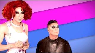 Bro'Laska w/ Alaska Thunder& Cory Binney - Cory in Drag